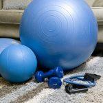 Gonfler un ballon de gym
