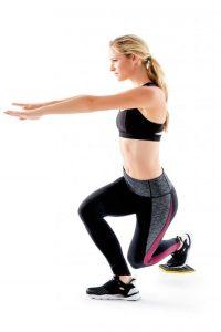 Fitness : Flexion avec disque glissant