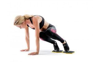 Exercice fitness à la maison