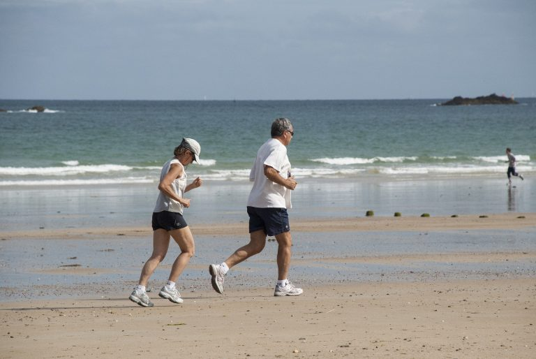 conseils pour courir sur la plage