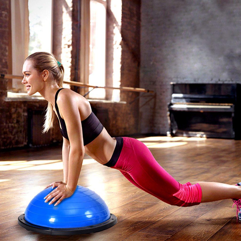 Coussin d'équilibre pour le fitness