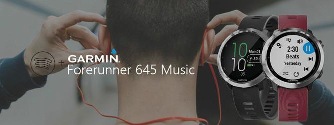 Forerunner 645 Music Montre GPS